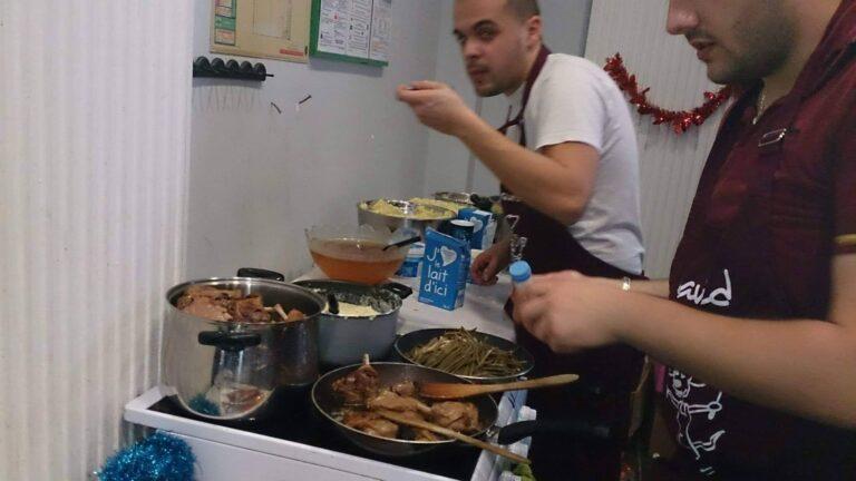 2013-12 Repas de Noël Isiboufe - Top Chef